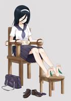 Fuyumi Irisu tickle by jmc5221