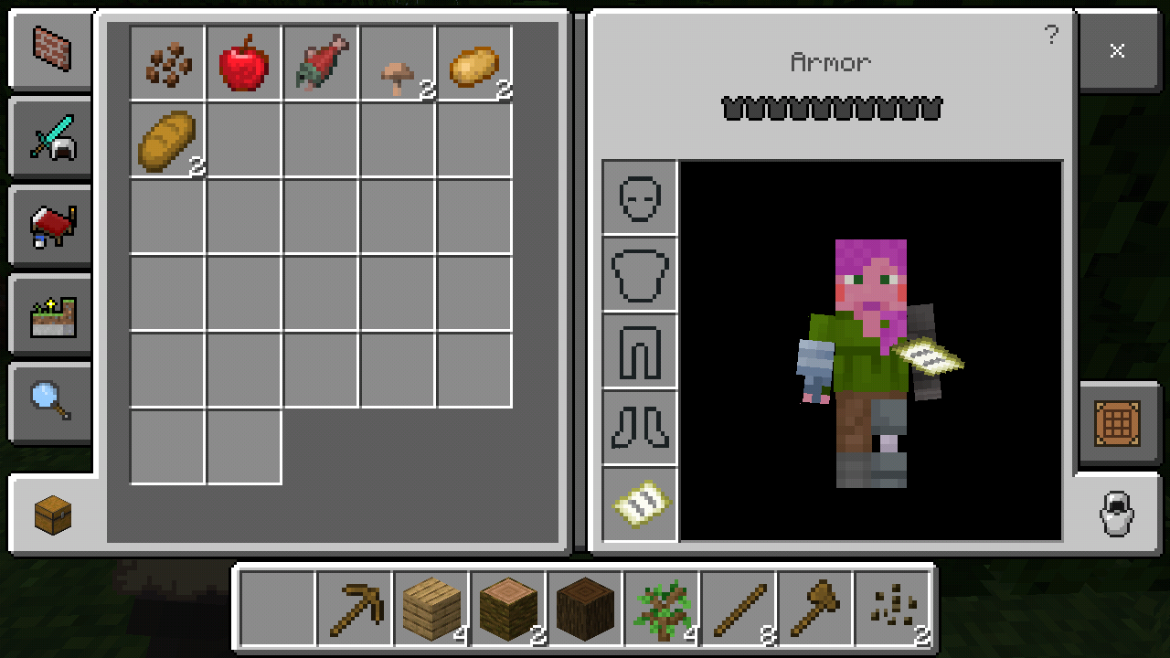 So I downloaded PE Minecraft