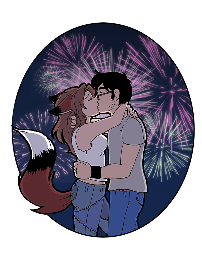 Fireworks v3 by tragicrabbit07