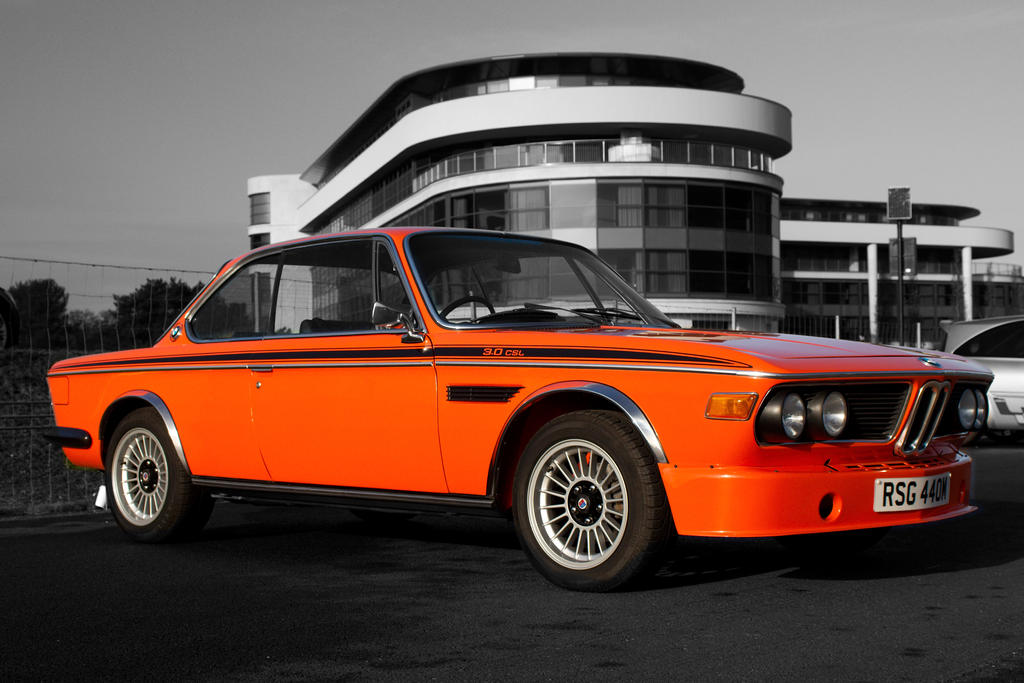 bmw 3 0 csl orange by furlined on deviantart. Black Bedroom Furniture Sets. Home Design Ideas