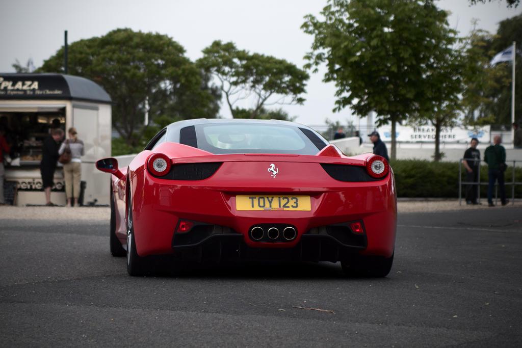Ferrari 458 Italia, rear by FurLined