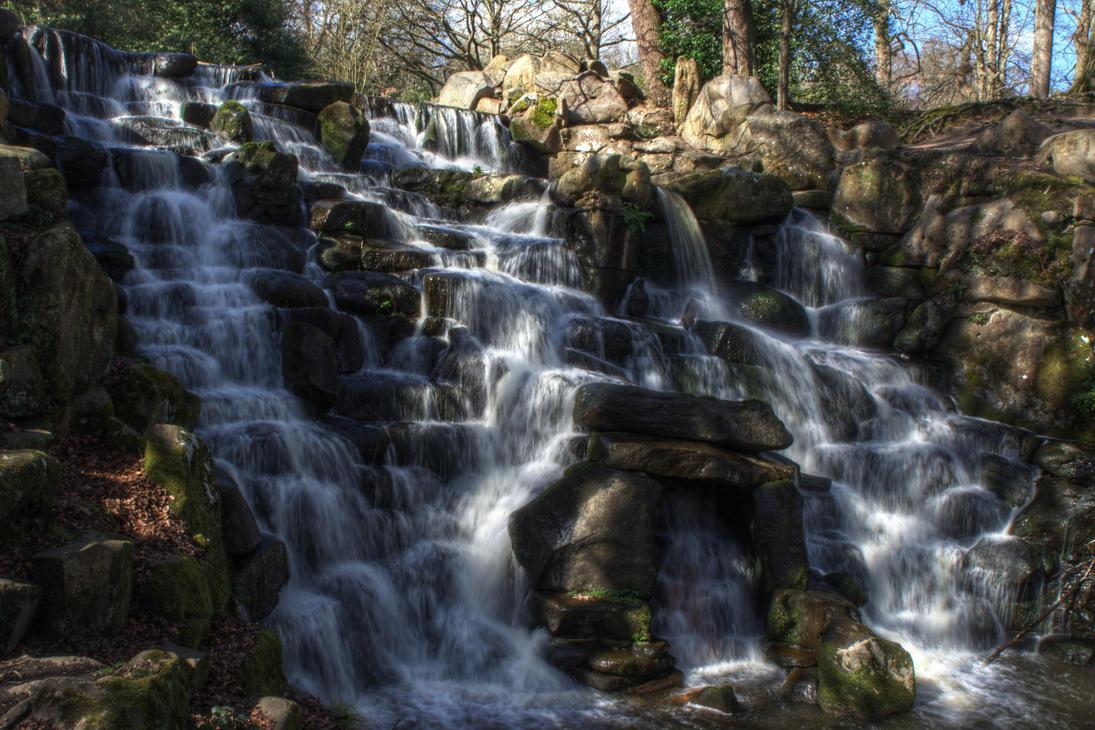 Ornamental Waterfall by FurLined