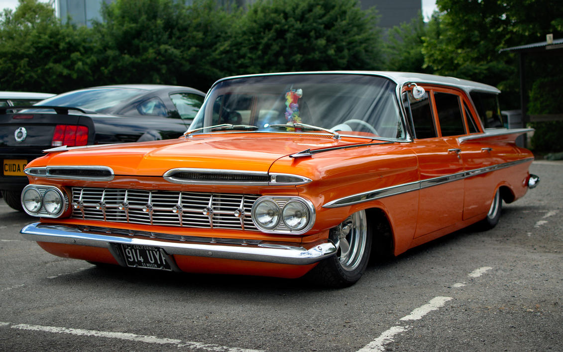 1959 Chevrolet Parkwood by FurLined