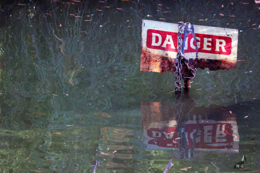 Danger by N-ScapePhotography