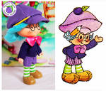 Custom Plum Puddin Boy Doll