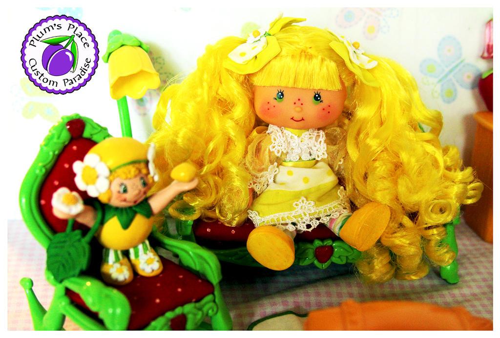 Lemon Meringue Berrykin Doll 5 by PlumsPlace