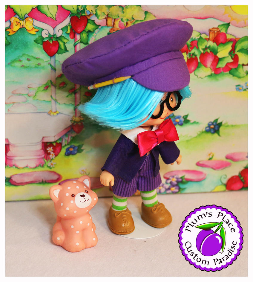 Custom Plum Puddin' Boy Doll Strawberry Shortcake by PlumsPlace