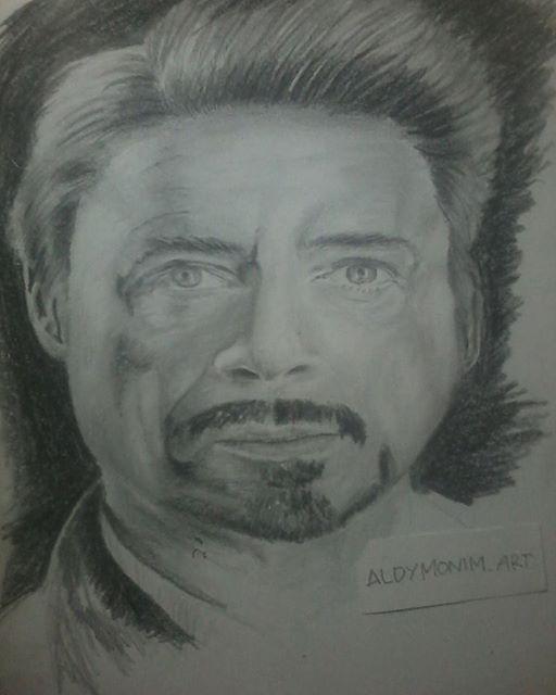 Robert Downey by aldy19