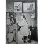 The Painter - inspired by John Thomson photograph