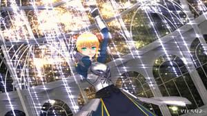 Fate/MMD - Artoria Pendragon  (Saber)