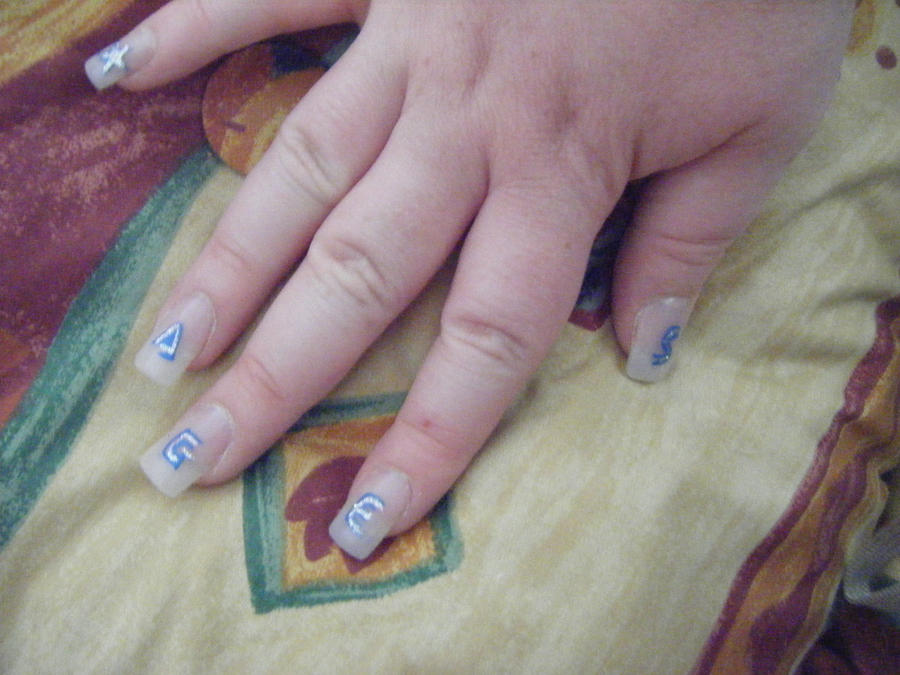 :: AGES Nail art :: by HelenBaby