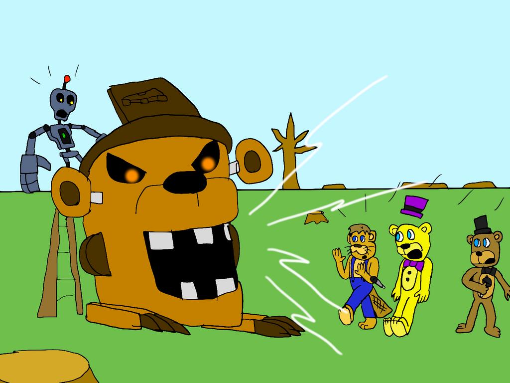 Freddy Fazbear And Friends: Jumpscared At Choppy's By All