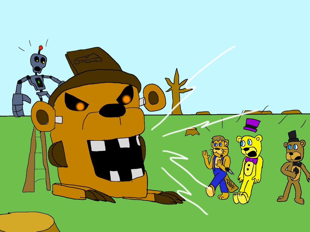 Freddy Fazbear And Friends: Jumpscared At Choppy's By All