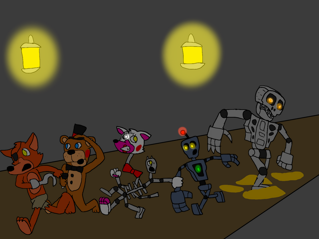 Freddy Fazbear And Friends: Escaping The Mad Endo By All