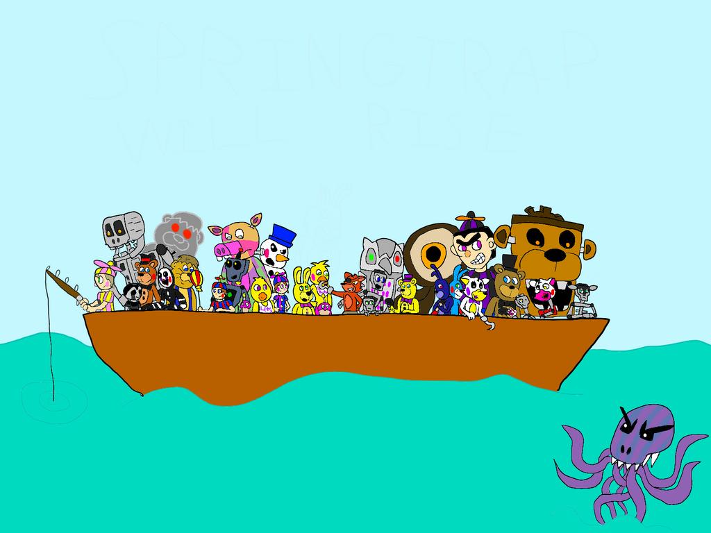 Freddy Fazbear And Friends: Season 1 Friend-Ship By All