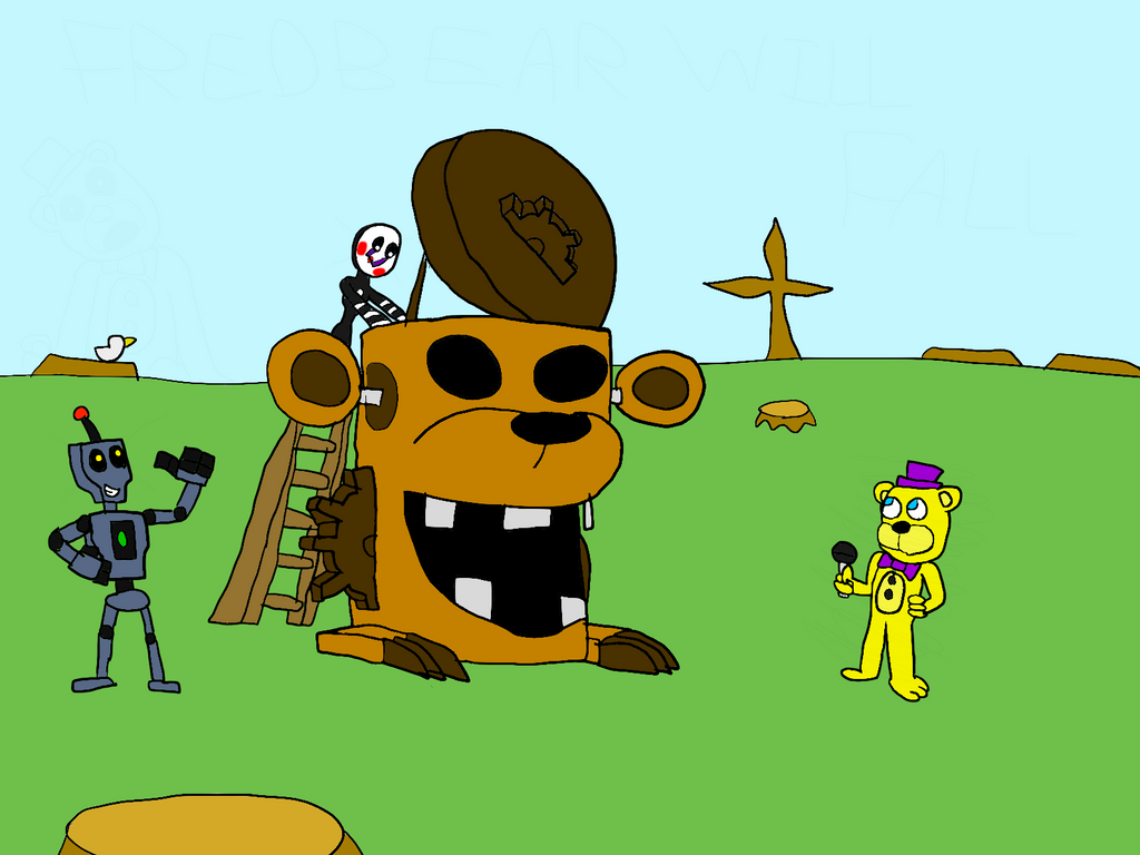 Freddy Fazbear And Friends:Marionette's Redemption By All