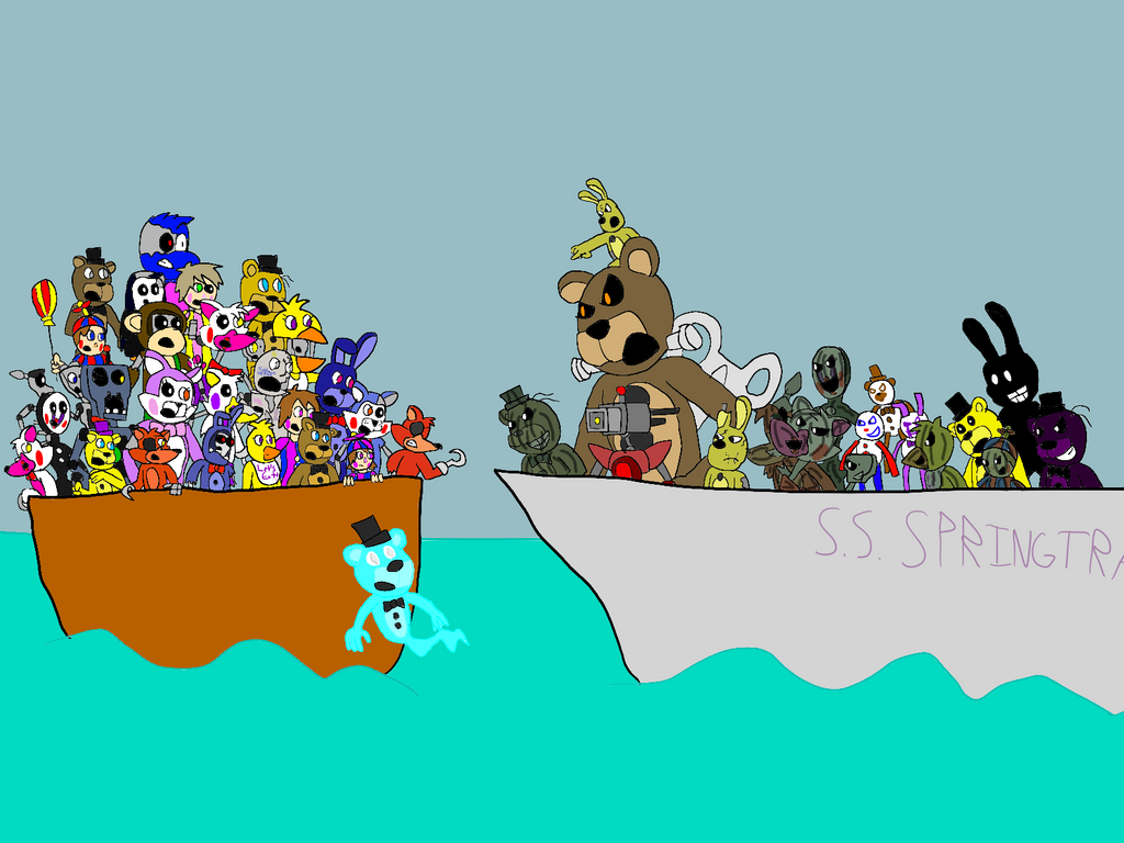 Freddy Fazbear And Friends Season 2 Battleships By All