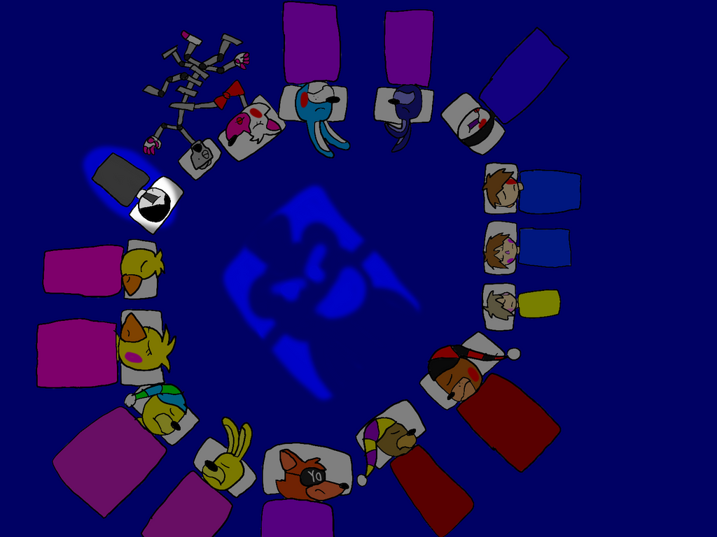 Freddy Fazbear And Friends: Midnight By All-StarGamer99 On
