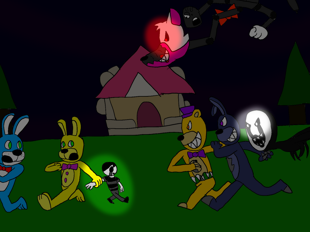 Freddy Fazbear And Friends: Fearful Chase By All
