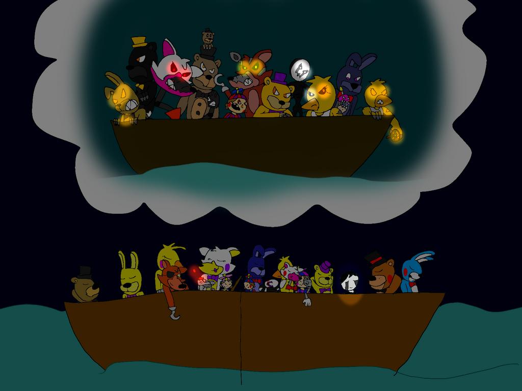Freddy Fazbear And Friends Season 3 Ship Of Dreams By All