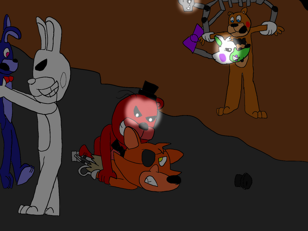 Freddy Fazbear And Friends: Caught By All-StarGamer99 On