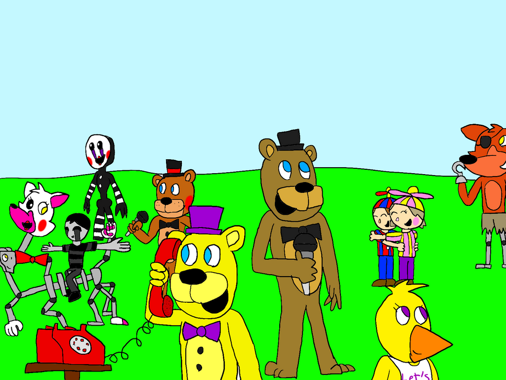 Freddy Fazbear And Friends: Back To Normal By All