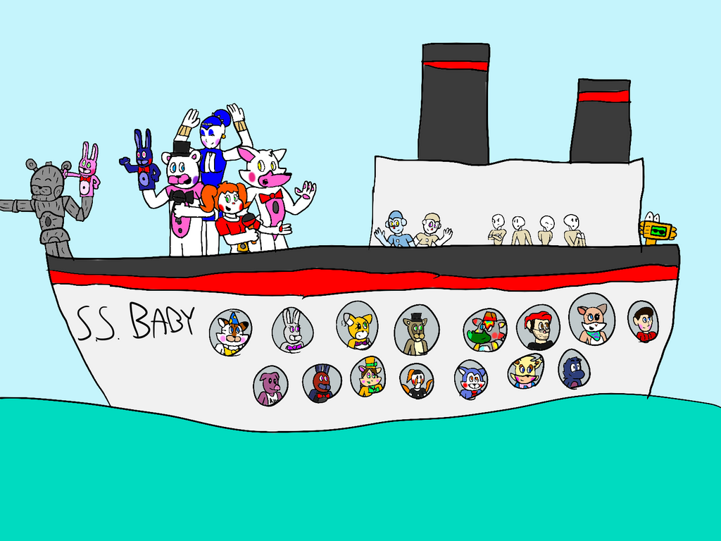 Circus Babys World Issue Cruise Ship By AllStarGamer On - Baby on cruise ship