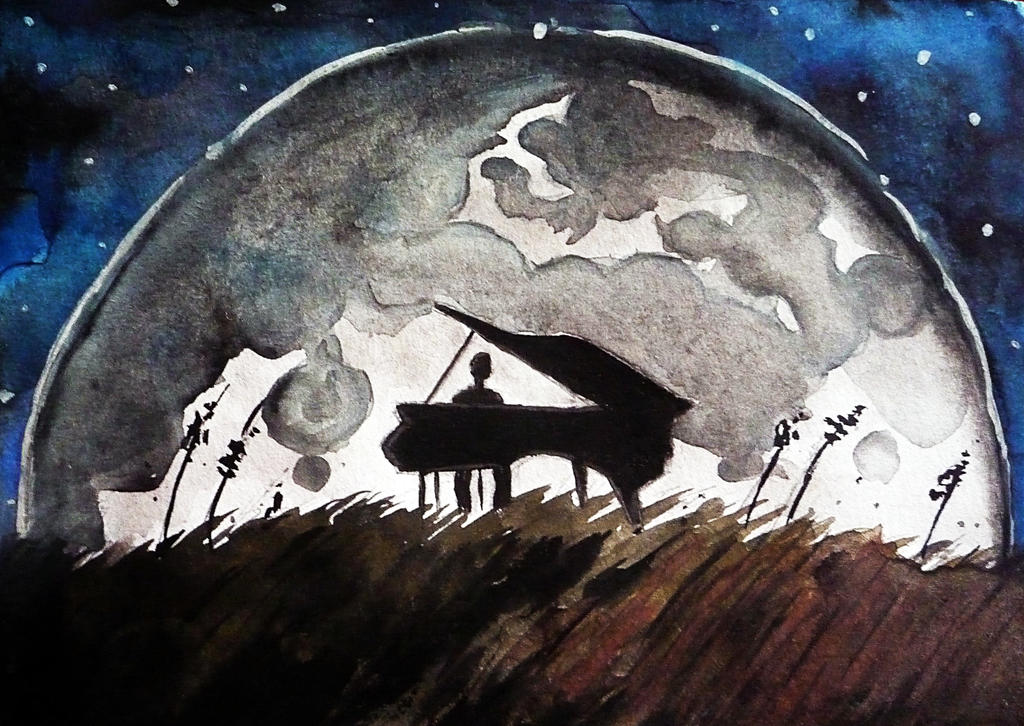 Moonlight Sonata by juiceofclouds on DeviantArt