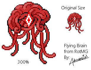 Flying Brain From RotMG By Adriansitol ...