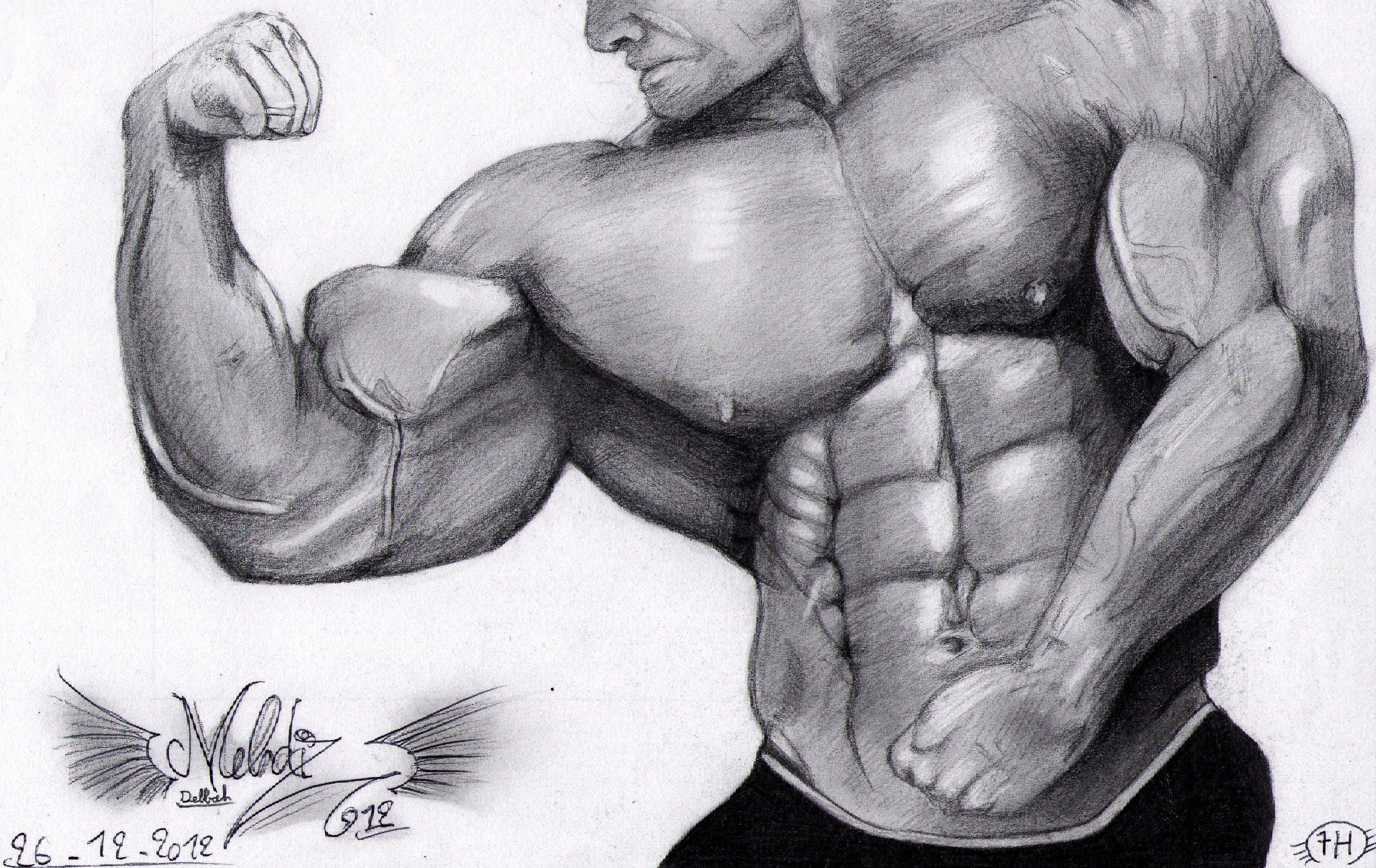 Perfect Bodybuilder by Mehdiunkut on DeviantArt