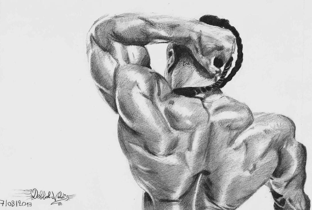 Kai greene by mehdiunkut on deviantart for Kai greene painting