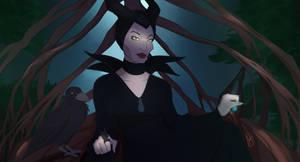 Dont be afraid: Maleficent Disney inspired art