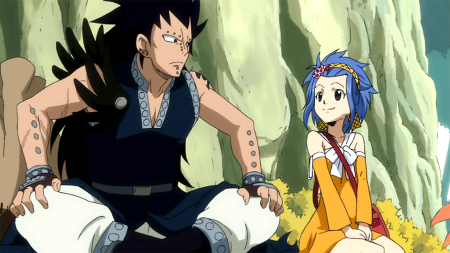 Fairytail:Gajeel and Levy after first by Melody3D on ...