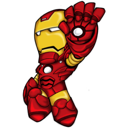 iron man face cartoon pictures to pin on pinterest pinsdaddy
