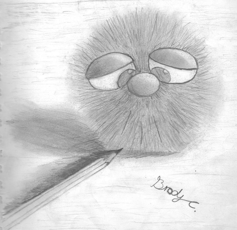 Fuzzy buddy by Rift-Mark
