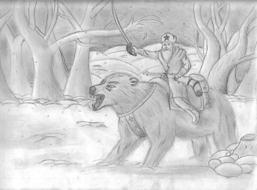 Russian Bear Cavalry by Rift-Mark