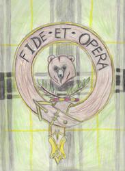 Scottish Clan Badge by Rift-Mark
