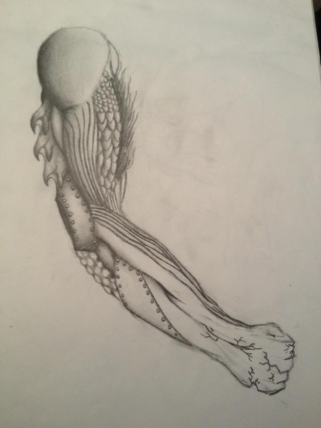 Elemental Arm by Rift-Mark