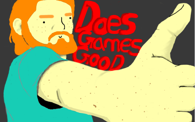 Does Games Good! (Youtube Channel Art) by Rift-Mark
