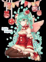 Render Hatsune Miku by thihuyen5atx1
