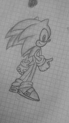 Fast blue hedgy called sonic by Bluefire9