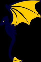 Vector Dragon by BlackMage1234
