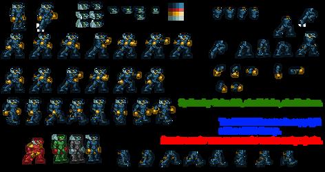 Rayg Vortixx spritesheet by BlackMage1234