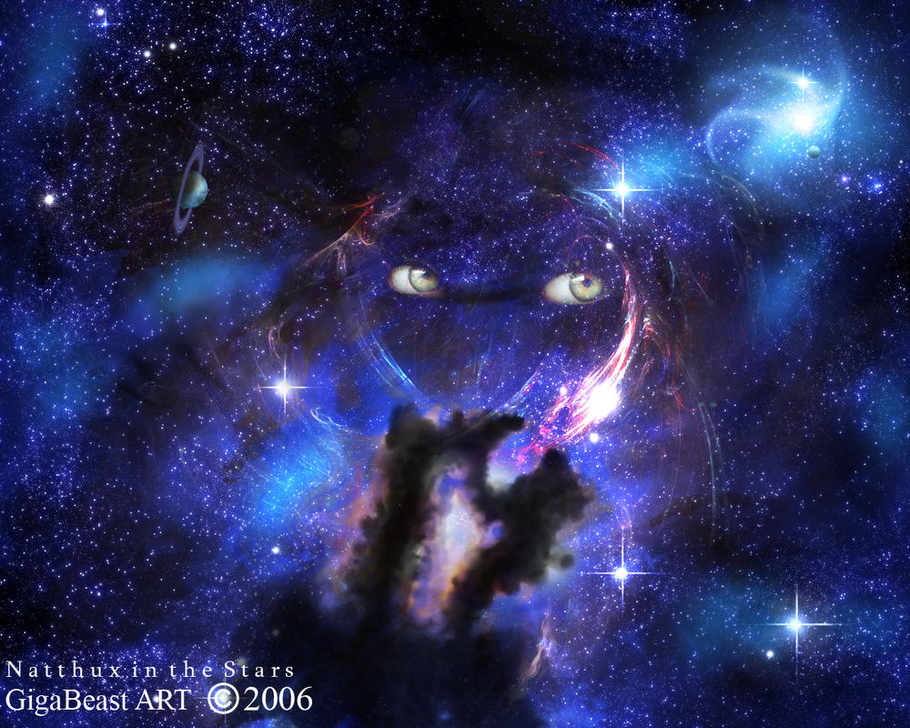 Najtux in the Stars by GigaBeast