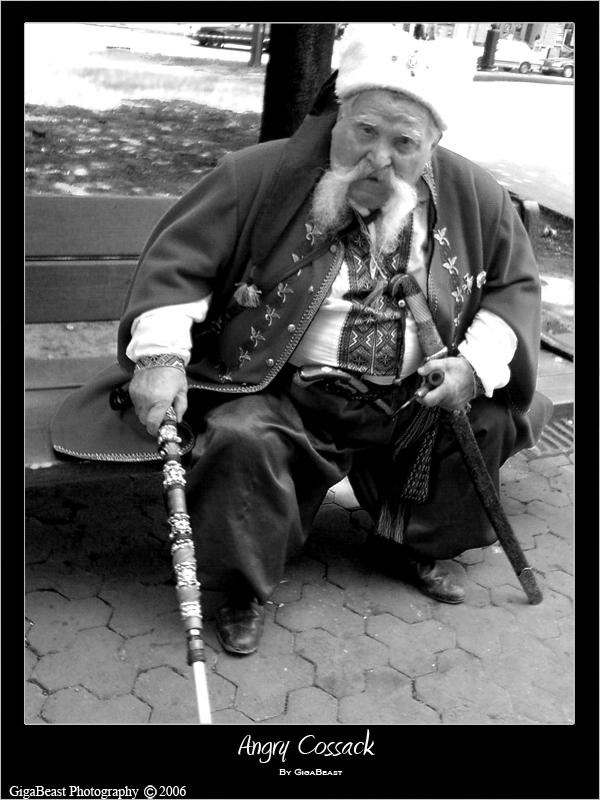 Angry Cossack by GigaBeast