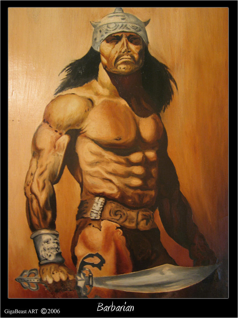 Barbarian by GigaBeast