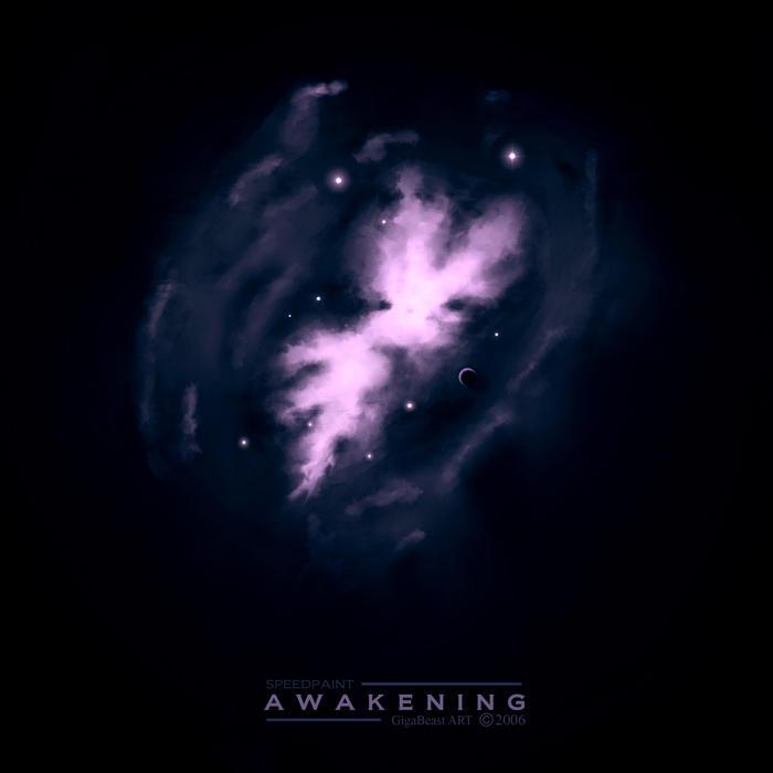 Awakening - speedpaint by GigaBeast