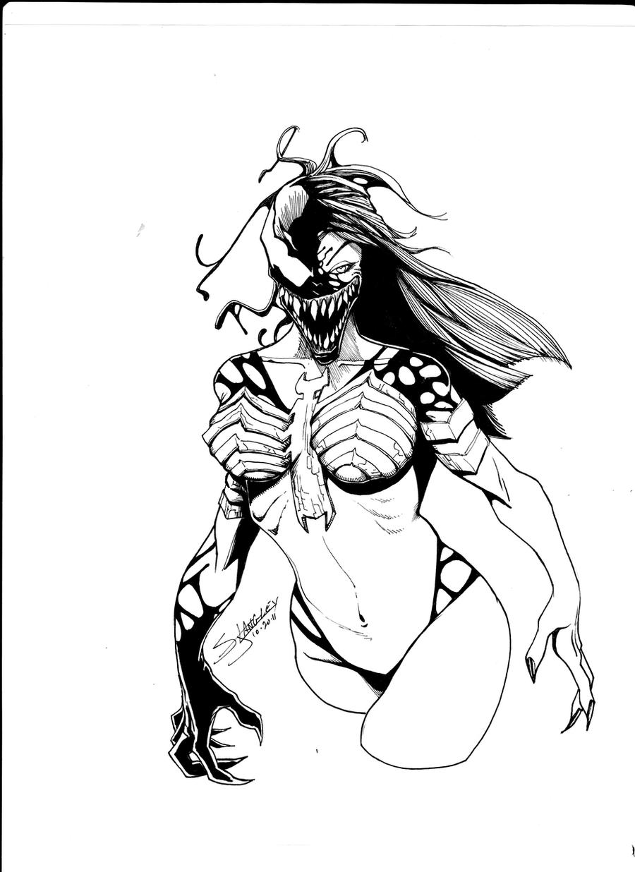 Female Venom 2 by LangleyEffect