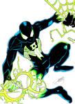 Spider-Lantern Color