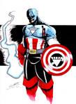 Black Lantern Captain America_Color
